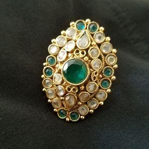 Fashion Ballywood Style Rhinstone Ring